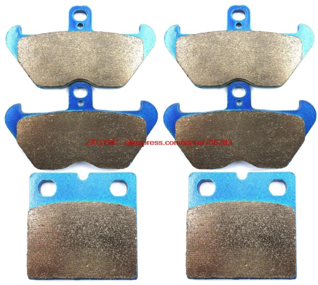 Sinter Motorcycle Disc Brake Pads Set fit BMW K1000 K1000RS K100 1000 RS 1990 & up motorcycle disc brake pads fa473 fit for can am spyder rs ses 990cc 08 09 phantom black