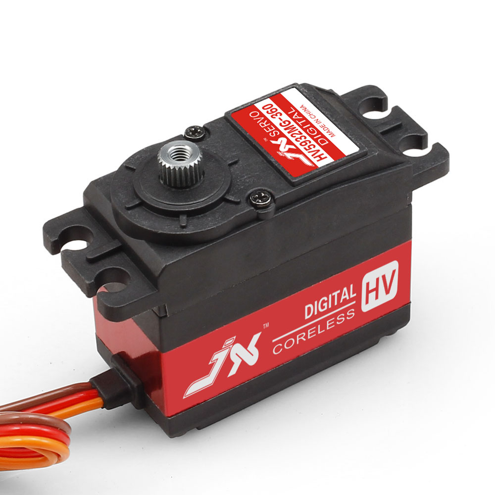 JX Servo/PDI - HV5932MG / 30 kg/large torsion metal digital Servo / 180 / 360 degrees jx servo pdi 6115 mg kg 15 large torque torque metal gear steering gear digital hollow cup standards