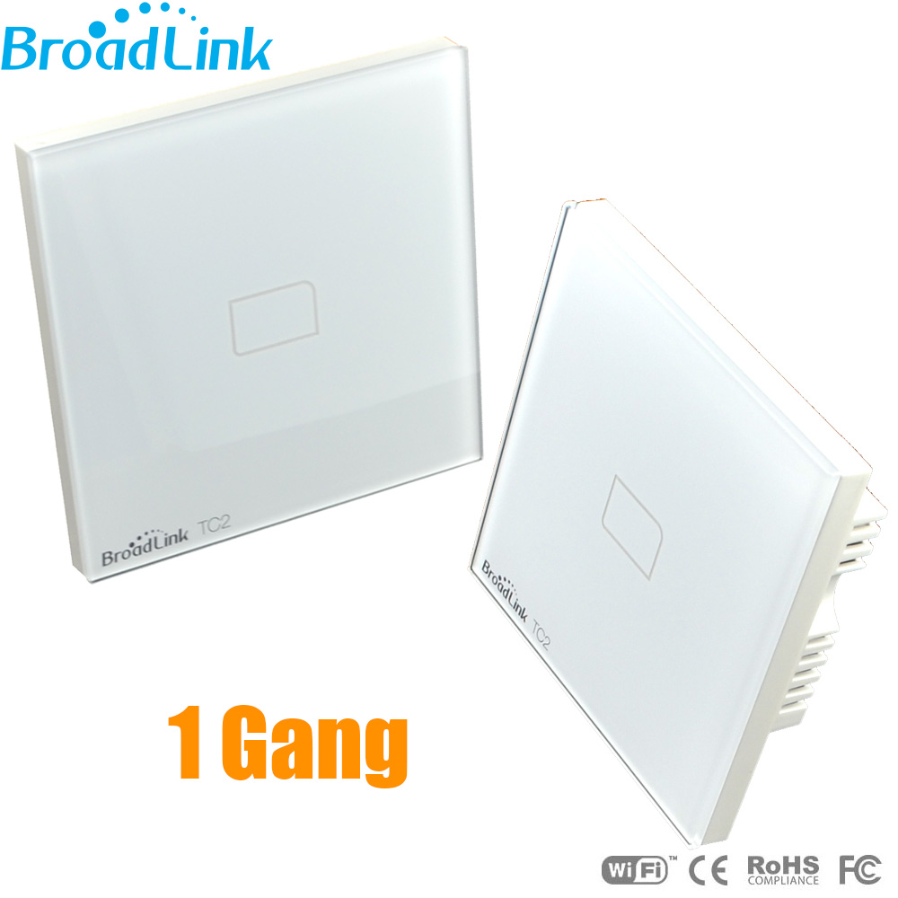 EU/UK Broadlink TC2 1-Gang Wireless Remote Control Light Swis