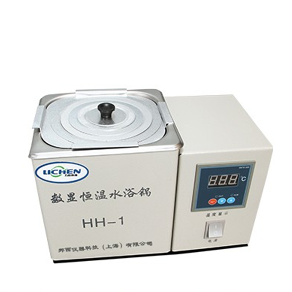 HH-1 Digital Lab Thermostatic Water Bath Single Hole Electric Heating 220V Laboratory Supplies single hole digital lab electric heated thermostatic water bath boiler hh 1