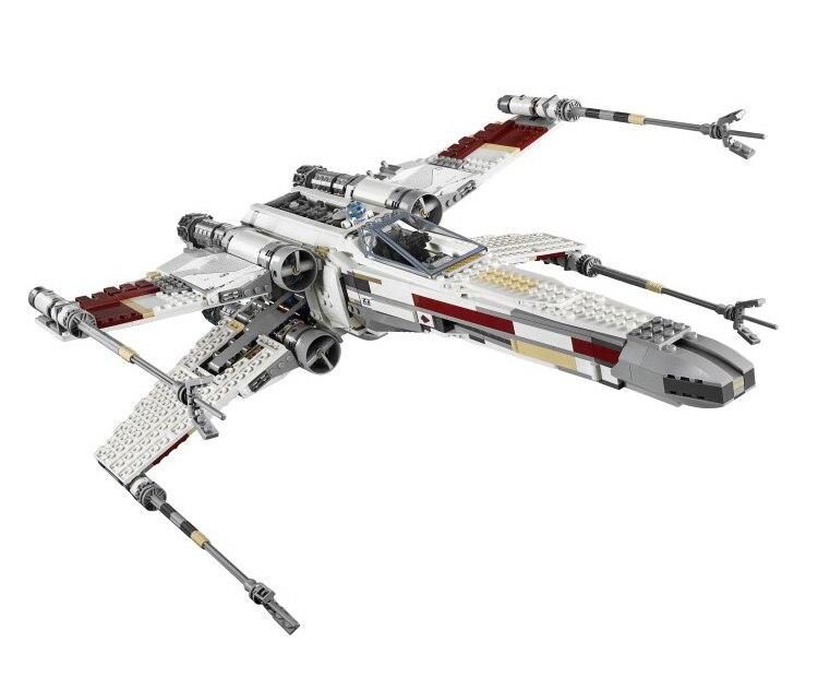 Lis 05039 1586 pcs UCS The X-wing Rebel Red Five X-wing Starfighter Set Building Blocks Bricks Compatible legoINGLYS 10240