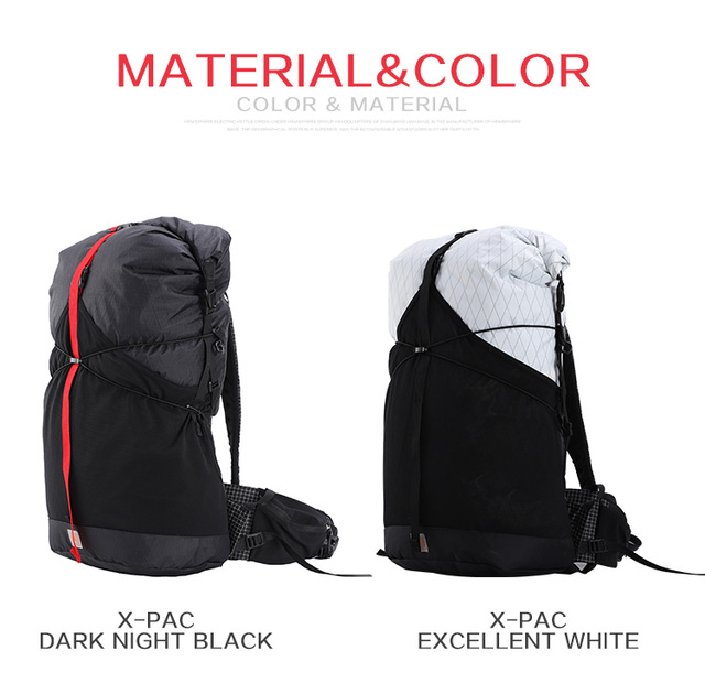 3F UL Trajectory 35L XPAC & UHMWPE Ultralight Hiking Backpack 3
