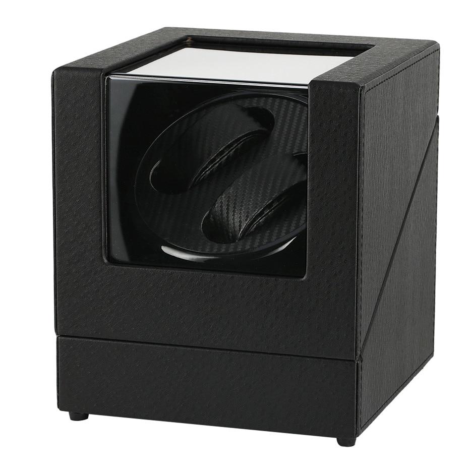 Remontoir de montre mécanique automatique de luxe support de secoueur de moteur noir boîte de remontage automatique meilleures boîtes de rangement US/UK/AU/EU
