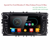 Two Din 7 Inch Car DVD Player For FORD Mondeo S MAX C MAX Galaxy FOCUS