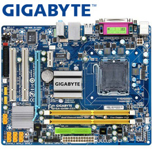 GIGABYTE GA-G41M-ES2L рабочего Материнская плата G41 разъем LGA 775 для Core 2 DDR2 8G mикро ATX оригинальная б/у