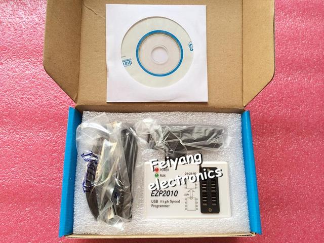 Frete Grátis!! EZP2010 de alta-velocidade USB SPI Programmer support24 25 93 25 EEPROM do flash chip de bios