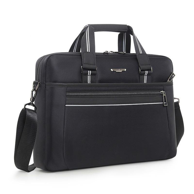Large Capacity Portable Men's Bag Waterproof Briefcase Office Bags For Men Business Computer Bag Oxford Cloth Shoulder Bag 2019