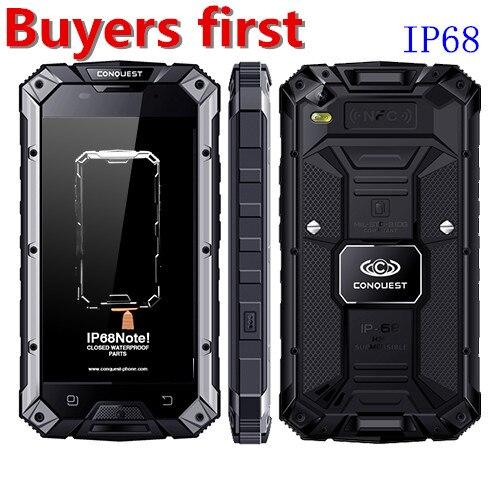 Шам S6 mtk6753 Восьмиядерный IP68 Водонепроницаемый смартфон отпечатков пальцев Android 6.0 3 ГБ Оперативная память 32 ГБ Встроенная память <font><b>NFC</b></font> <font><b>OTG</b></font> 4 г 13MP мо&#8230;