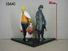 Naruto Uzumaki Naruto+Uchiha Sasuke PVC Toy
