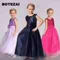 Summer Flower Girl Dress Top grade 3-15 yrs baby princess Dresses for girls wedding party vestidos infantis Kid Girls Clothes