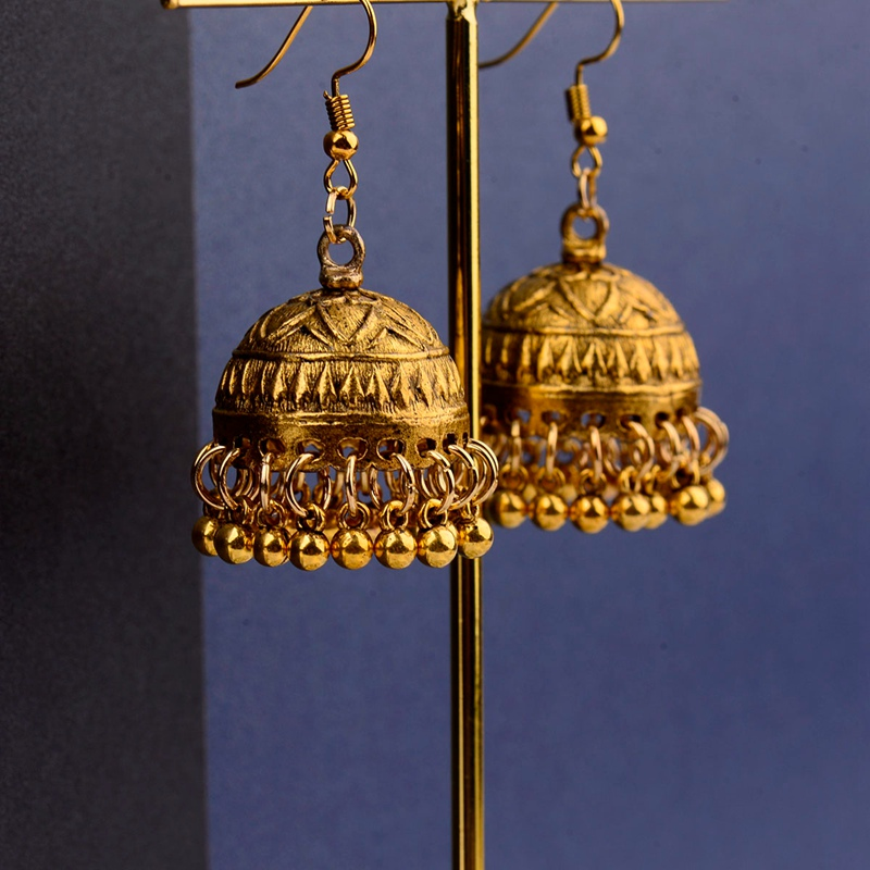 Tocona Vintage Antike Gold Silber Blume Lotus Hoop Ohrringe Piercing Ethnische Geschnitzte Ohrring Brincos Für Frauen Schmuck 6497 Creolen