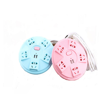 hot deal buy 1.5m extension cord power strip socket portable strip plug adapter with 2 usb 5 port multifunctional smart home electronics