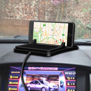 Image 4 - 10W 범용 자동차 충전기 Qi 무선 충전기 충전 도크 패드 빠른 충전기 대시 보드 홀더 iphone XR