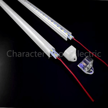 5Pcs 50cm DC12V SMD 5630/5730 LED Rigid Strip Bar Light+pc cover Light tube (warm white / cool white)