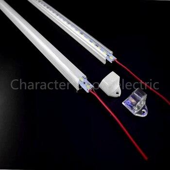 цена на 5Pcs 50cm DC12V SMD 5630/5730 LED Rigid LED Strip Bar Light+pc cover LED Bar Light tube (warm white / cool white)