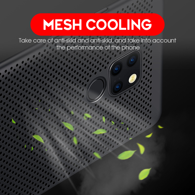 New Heat Dissipation Case For Huawei P30 Pro P20 Mate 20 Lite Y9 2019 Nova 4e 3e 3i P Smart Plus Cover For Dropshipping Coque 2