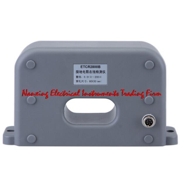 Testeur en ligne de résistance sans Contact multifonction ETCR2800C 0.01OHMS-200OHMS avec écran LCD et voyant d'alarme - 2