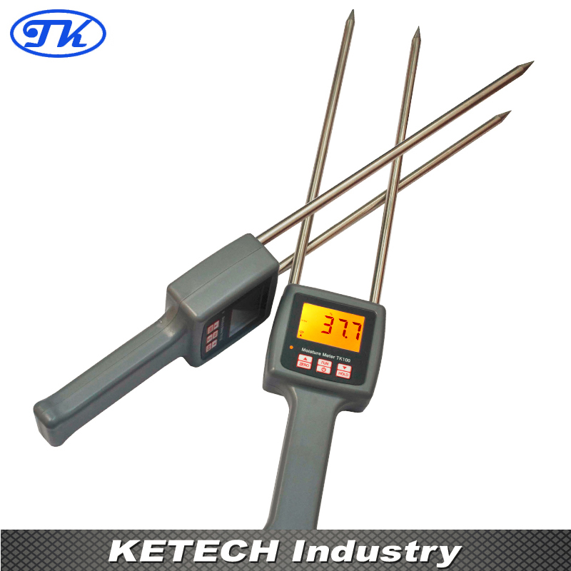 Digital Cotton Moisture Meter 7%-40% TK100C hygrometers tk100c digital cotton seed cotton moisture meter digital tester 7 40% humidity