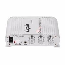Lvpin LP-838 Canal De Voiture Amplificateur Stéréo Subwoofer Audio Stéréo Basse Haut-Parleur Booster Lecteur pour Auto Moto Accueil