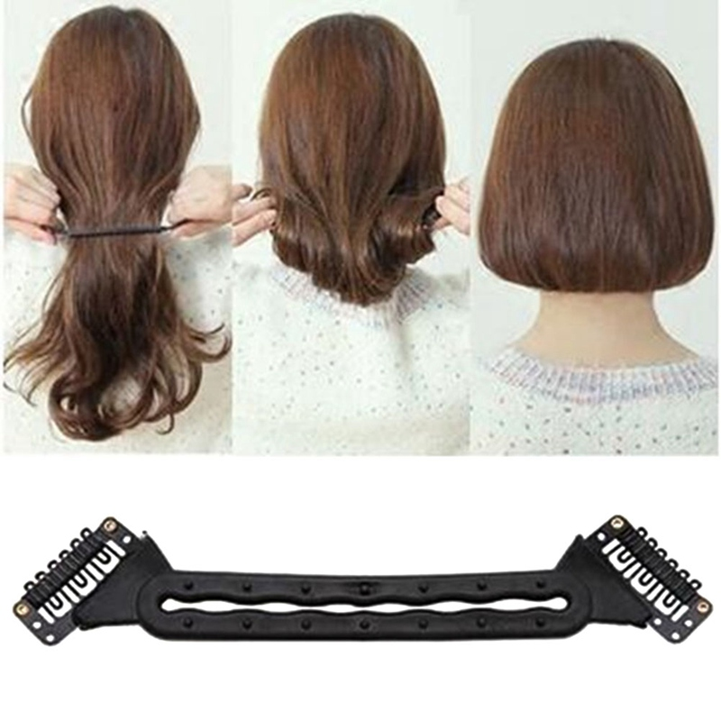 Make Up Hair Braiding Braider Tool Long Hair Become Short Hair Hairstyle Hair Curler Hai ...