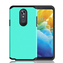 For LG Stylo 5  Dual Layer Hybrid Armor Case Shockproof Anti Scratch Protective Soft TPU & Hard Back Cover LG Stylo 5