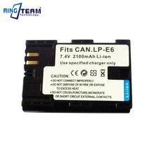 Digital Battery LP-E6 LPE6 LP E6 for Canon EOS 5D 5D2 5DS R Mark II 2 / III 3 6D 60D / 60Da 7D 7D2 7DII 70D 80D DSLR XC10 Camera