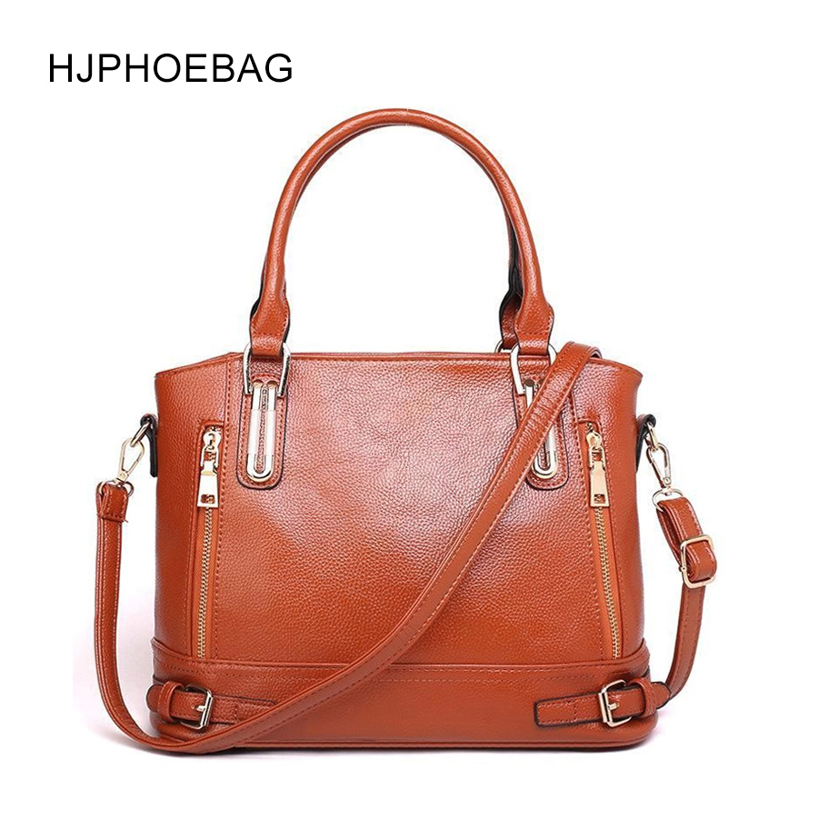 HJPHOEBAG New leather handbags large ladies