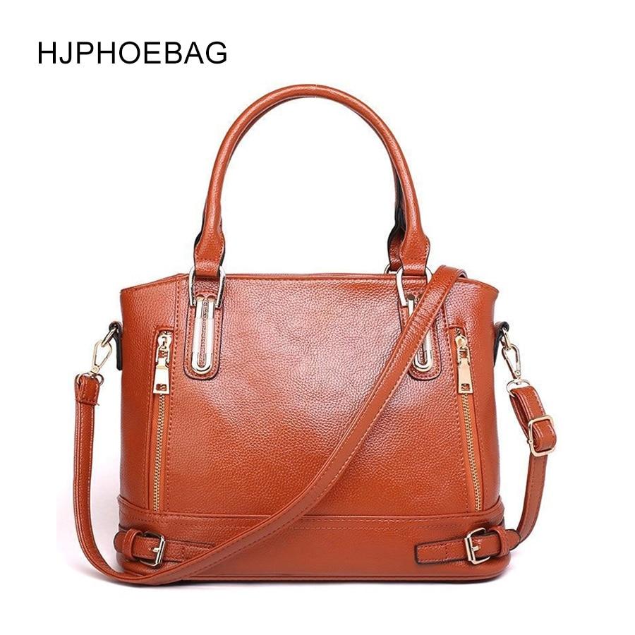 HJPHOEBAG New leather handbags large ladies