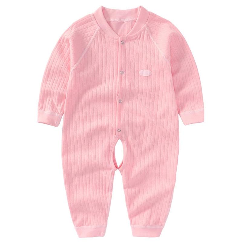 Baby Romper z długim rękawem Summer Baby Girl Romper Cotton Baby - Odzież dla niemowląt - Zdjęcie 1
