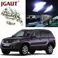 JGAUT White Car Lamp LED Light Bulbs Interior Package Kit For 2006 2013 Suzuki Grand Vitara