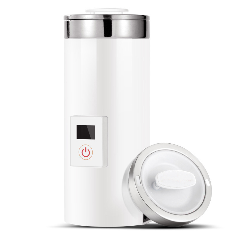 0.5L Thermal Insulation Electric Kettle Hot Water Heating Bottle Mini Coffee Boiler Travel Portable Slow Cooker Tea Pot Cup