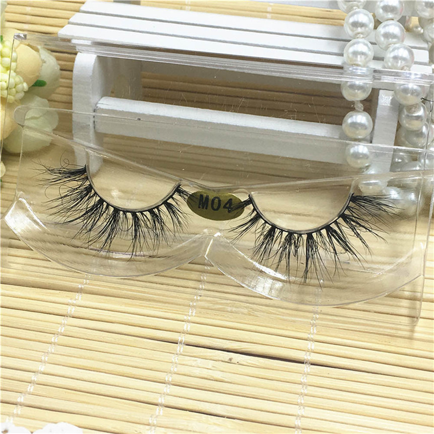 OutTop 3D False Eyelashes Thick Natural Long Fake Lashes Eye Cosmetic Makeup Tools Daily&Party Drop Shipping 80305
