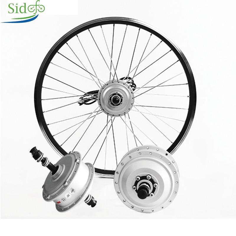 Electric Bicycle Brushless Engine 350W Ebike 250W 36V Screw Motor For Bike Mxus XF08 Motor Rim Rear Wheel Hub Motor Silver/Black