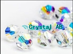 AAA+ Crystal AB Color Round Crystal Glass Beads Loose for JDIY bracelet necklace jewelry accessories.4mm~10mm