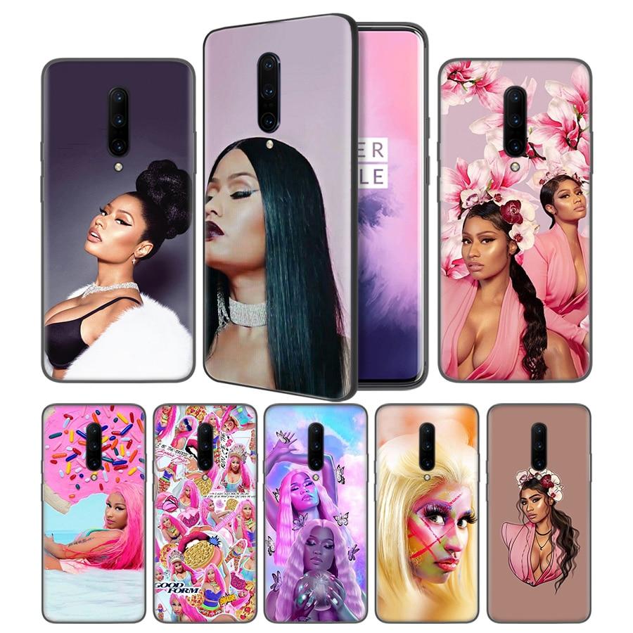 Nicki Minaj Soft Black Silicone Case Cover for font b OnePlus b font 6 6T font