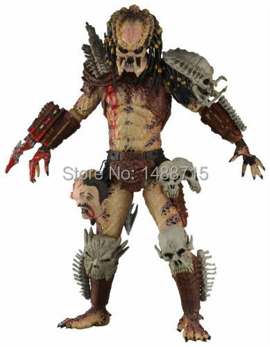 New NECA Bad Blood <font><b>Predator</b></font> 18CM <font><b>Action</b></font> <font><b>Figure</b></font> Toys <font><b>Classic</b></font> Sci-Fi Film Alien Hunter <font><b>Predators</b></font> Series Original Box