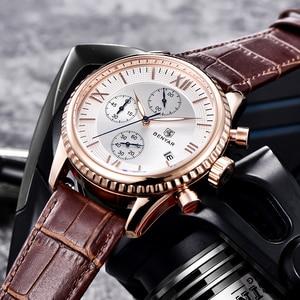 Image 5 - BENYAR heren Horloge Mode/Sport/Quartz Horloge Mannen Horloge Heren Klok Top Brand Luxe Lederen Horloges Mannen relogio Masculino