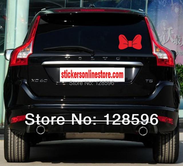Aliexpresscom  Buy Cute Girl Mickey Mouse Bow Tie Hello Kitty - Bow custom vinyl decals for car