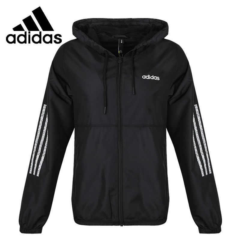 Familiar De todos modos femenino  Nueva llegada Original 2019 Adidas NEO W CE 3S WB chaqueta de mujer con  capucha ropa deportiva|Chaquetas para running| - AliExpress