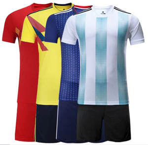 3ba8d198c 2018 new soccer sets Football wear suitFootball national team german team  argentina spain football training clothes