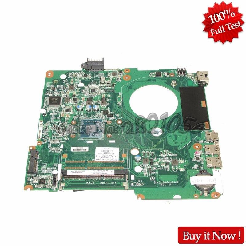NOKOTION 828164-001 DA0U8AMB6A0 Laptop Motherboard For HP Pavilion 15 15-F Motherboard SR1YJ N2840 DDR3 744008 001 744008 601 744008 501 for hp laptop motherboard 640 g1 650 g1 motherboard 100% tested 60 days warranty