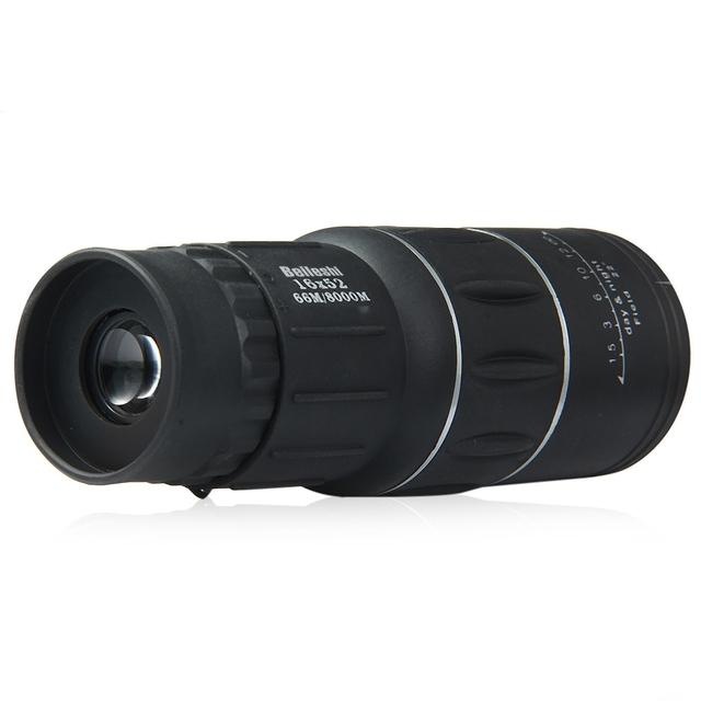 Telescope Handy Sports Camping Hunting Pocket Compact Outdoor Travel Big Eyepiece Binoculars16 x 52 Dual Focus Zoom Monocular