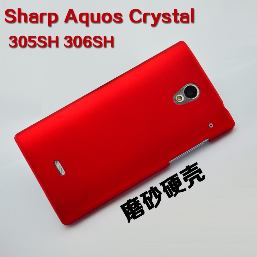 For Sharp Aquos Crystal case hard plastic back cover phone protect shell  for Sharp Aquos crystal 305SH 306SH 797c2c93d873