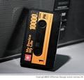 Polímero de la energía móvil 10000 mA cinta dualoutput Banco universal de la energía de carga del tesoro portátil de energía móvil Universal del teléfono inteligente