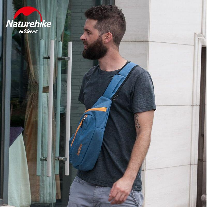Prix pour Naturehike Hommes d'épaule de sac de Messager sac loisirs tourisme de Plein Air sacs de Sport Grande capacité poitrine pack équitation sac à dos Femmes