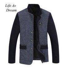 2018 Otoño Invierno hombre chaqueta Casual béisbol jaquetas de couro hombre  College chaqueta Hommes abrigos Dropshipping 2aba30fba777d