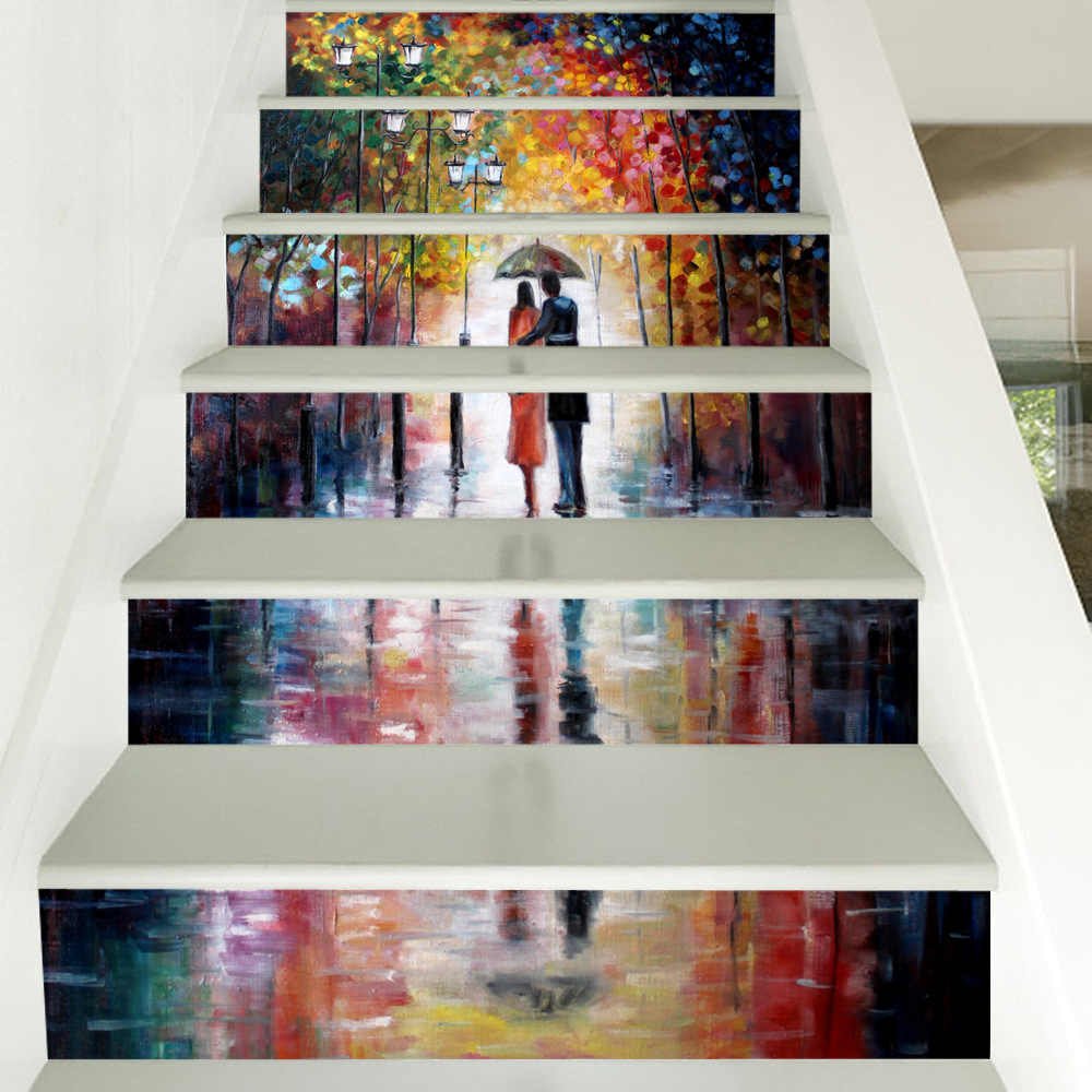 Trap Stickers Halloween Staircase Decoration Stair Riser ...