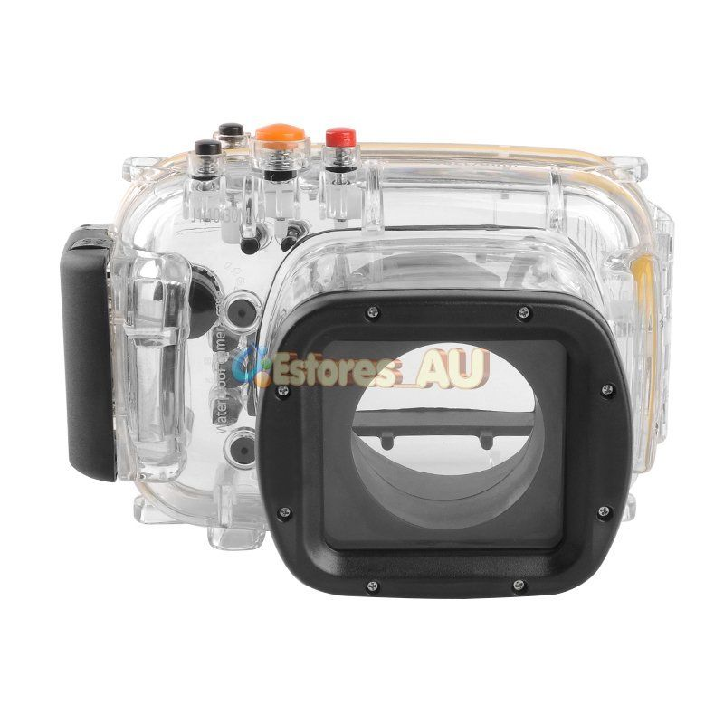 Waterproof Underwater Housing Camera Housing bag Case cover for nikon J1 10-30mm lens transparent plastic waterproof dive housing case underwater cover for sj4000 sports camera camera accessories