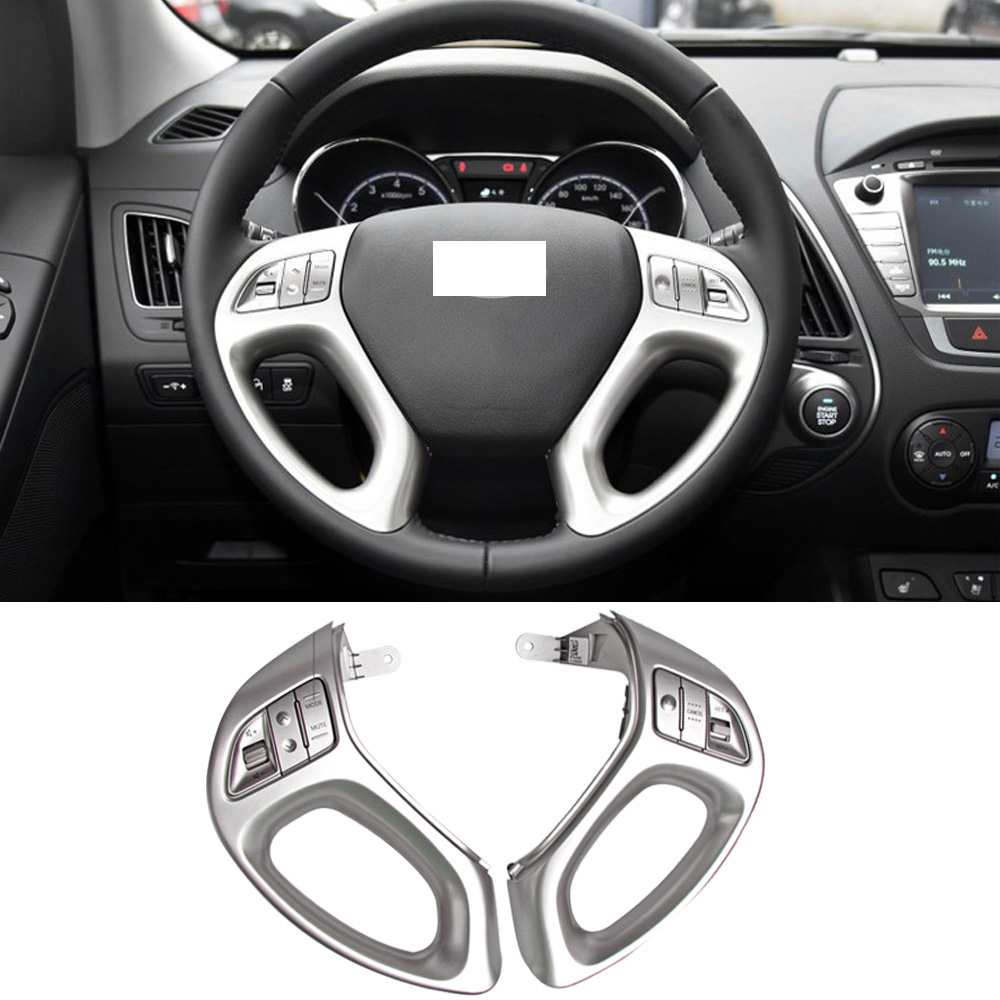 CAPQX Multifunction Steering Wheel Control Button For Hyundai IX35 2009-2015 Wireless DVD Audio Volume Control Switch Button