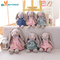 Cartoon Rabbit Plush Toy Rabbit With Skirt Doll Soft Stuffed Animal Doll Kids Girls Birthday Gift 35/40/45cm